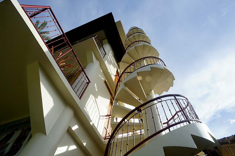 Momo Village Guesthouse Tower Stairs Panglao