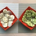 Turnips or cucumbers with sesame vingar